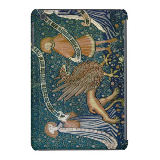 Medieval gryphon tapestry iPad mini cover