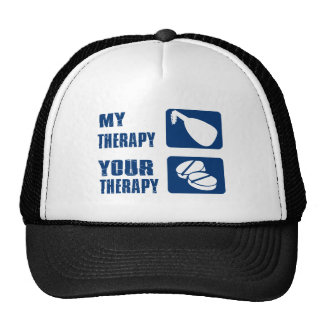 medieval harp is my therapy trucker hat