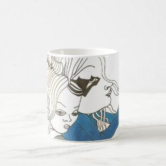 medieval haunted girl mug
