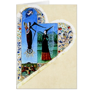 Medieval Heart Card