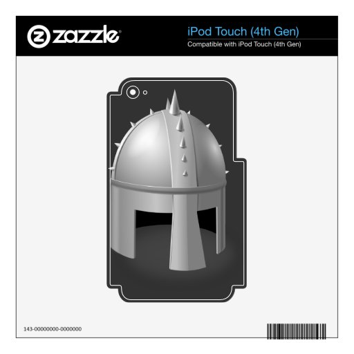 Medieval Helm iPod Touch 4G Decal