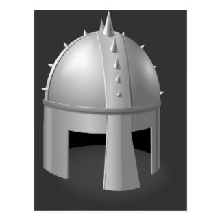 Medieval Helm Postcard