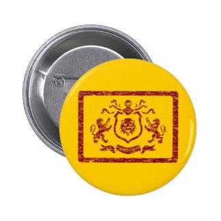 Medieval Heraldic Blazon Button