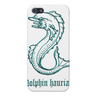 Medieval Heraldry Dolphin hauriant iPhone SE/5/5s Case