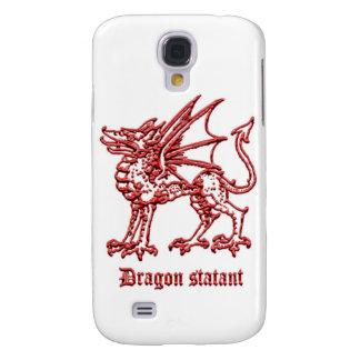 Medieval Heraldry Dragon statant Samsung Galaxy S4 Case