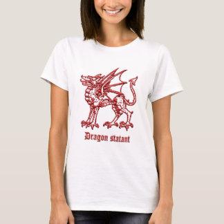Medieval heraldry Dragon stsatant T-Shirt