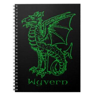 Medieval Heraldry Wyvern Notebook