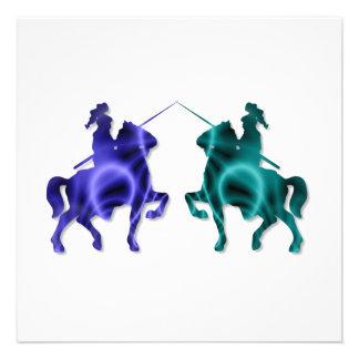Medieval Horses Invitations