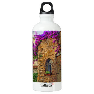 Medieval House in Charming Italy Water Bottle