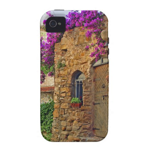 Medieval House in Scenic Charming Italy iPhone 4 Case