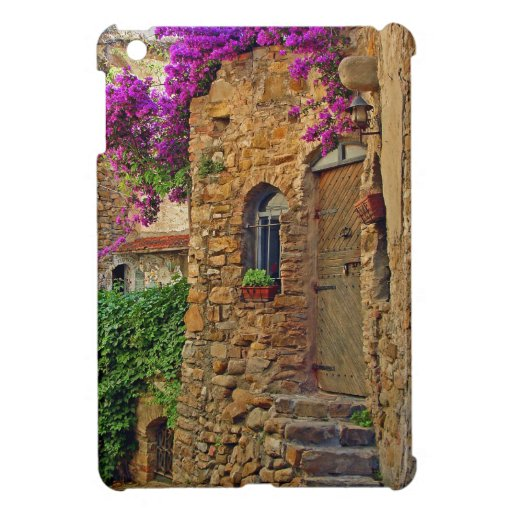 Medieval House in Scenic Charming Italy iPad Mini Cases