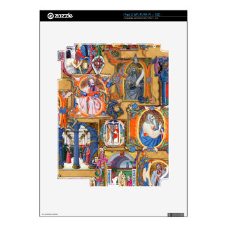 Medieval Illuminations Decal For The iPad 2