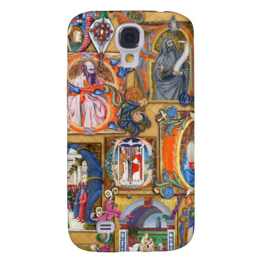Medieval Illuminations Galaxy S4 Cover