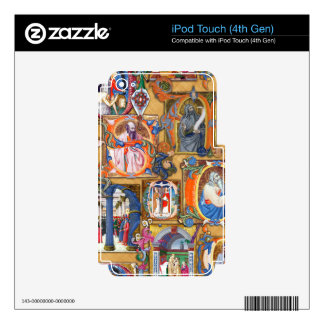 Medieval Illuminations iPod Touch 4G Skin