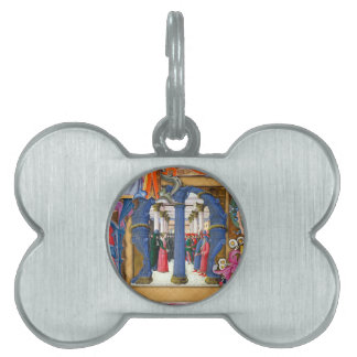 Medieval Illuminations Pet Tag