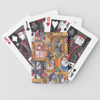 Medieval Illuminations Playing Cards