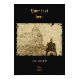 Medieval Invitación 12,7 X 17,8 Cm