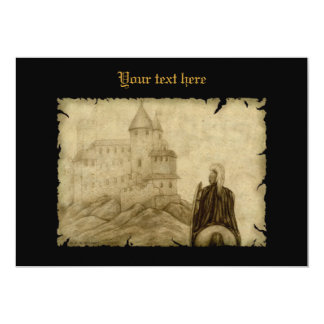 Medieval 5x7 Paper Invitation Card