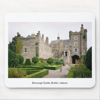 Medieval Ireland Castle - Drimnagh Castle Dublin Mouse Pad