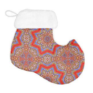 Medieval kaleidoscope 1 elf christmas stocking