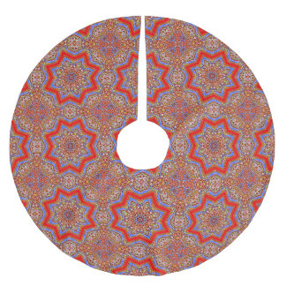 Medieval Kaleidoscope Brushed Polyester Tree Skirt