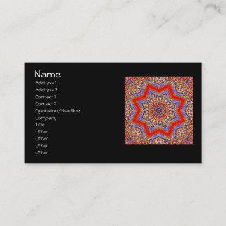 Medieval Kaleidoscope Business Card