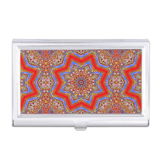 Medieval Kaleidoscope Business Card Case