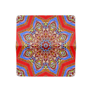 Medieval Kaleidoscope Checkbook Cover