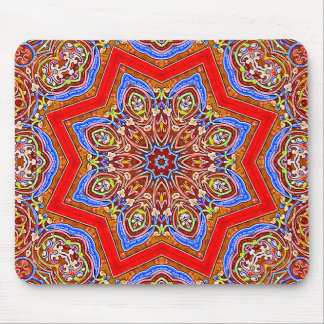 Medieval Kaleidoscope Mouse Pad