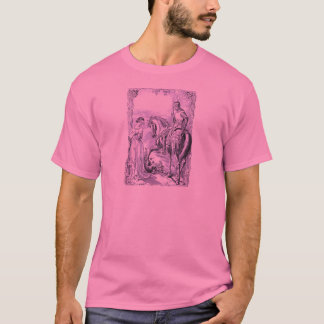 Medieval Knight and Lady T-Shirt