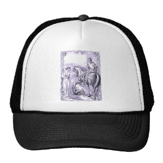 Medieval Knight and Lady Trucker Hat