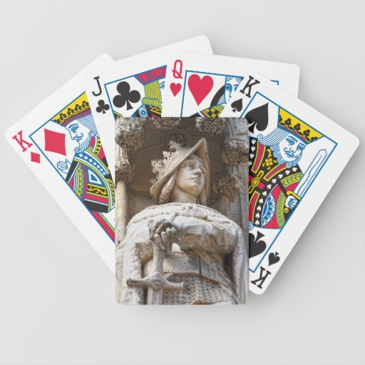 Medieval Knight Bicycle Poker Deck