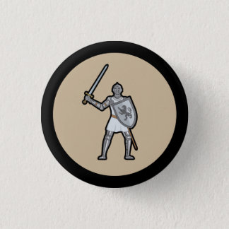 Medieval Knight Button