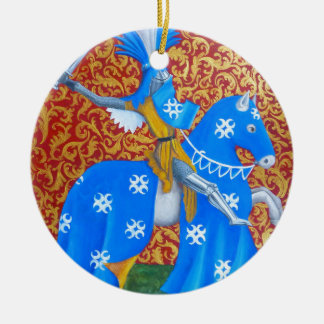 Medieval Knight Ceramic Ornament
