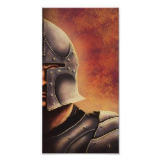 medieval knight fantasy photo print
