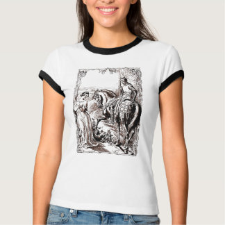 Medieval Knight & His Lady History-lover's Apparel T-Shirt