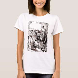 Medieval Knight & His Lady History lover's Shirt