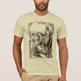 Medieval Knight & His Lady History lover's T-Shirt