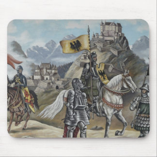 Medieval Knight Horse History Castle Party Destiny Mouse Pad