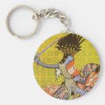 Medieval Knight Keychain