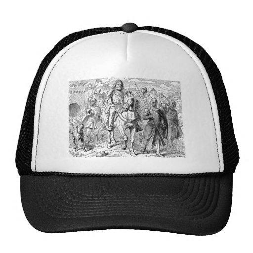 Medieval Knight Mesh Hats