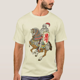 medieval knight on a horse T-Shirt