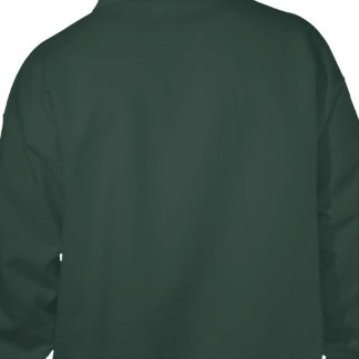 Medieval Knight on Shield: Courage & Nobility Hooded Pullovers