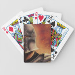 medieval knight playing cards