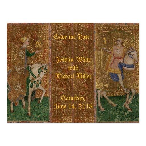 Medieval Knight Renaissance Historical Fantasy Post Cards