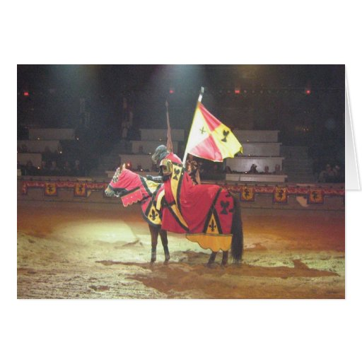 Medieval Knight Stationery Note Card