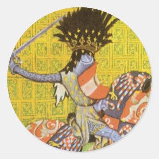 Medieval Knight Sticker