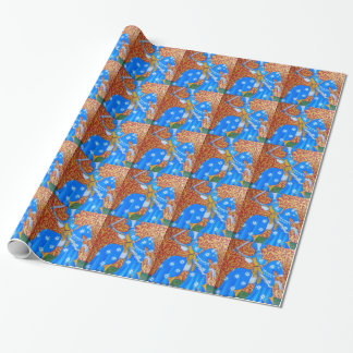 Medieval Knight Wrapping Paper