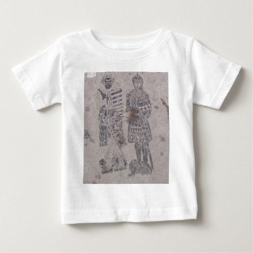 Medieval Knights Graffiti T-shirt
