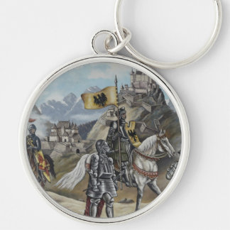Medieval Knights Horses Lions Castle Party Destiny Keychain